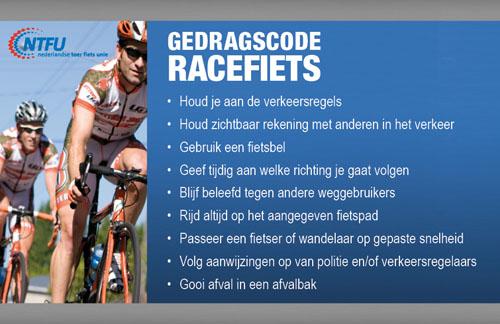 Gedragscode_racefietsen
