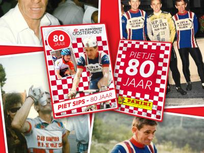 Piet Sips 80 jaar